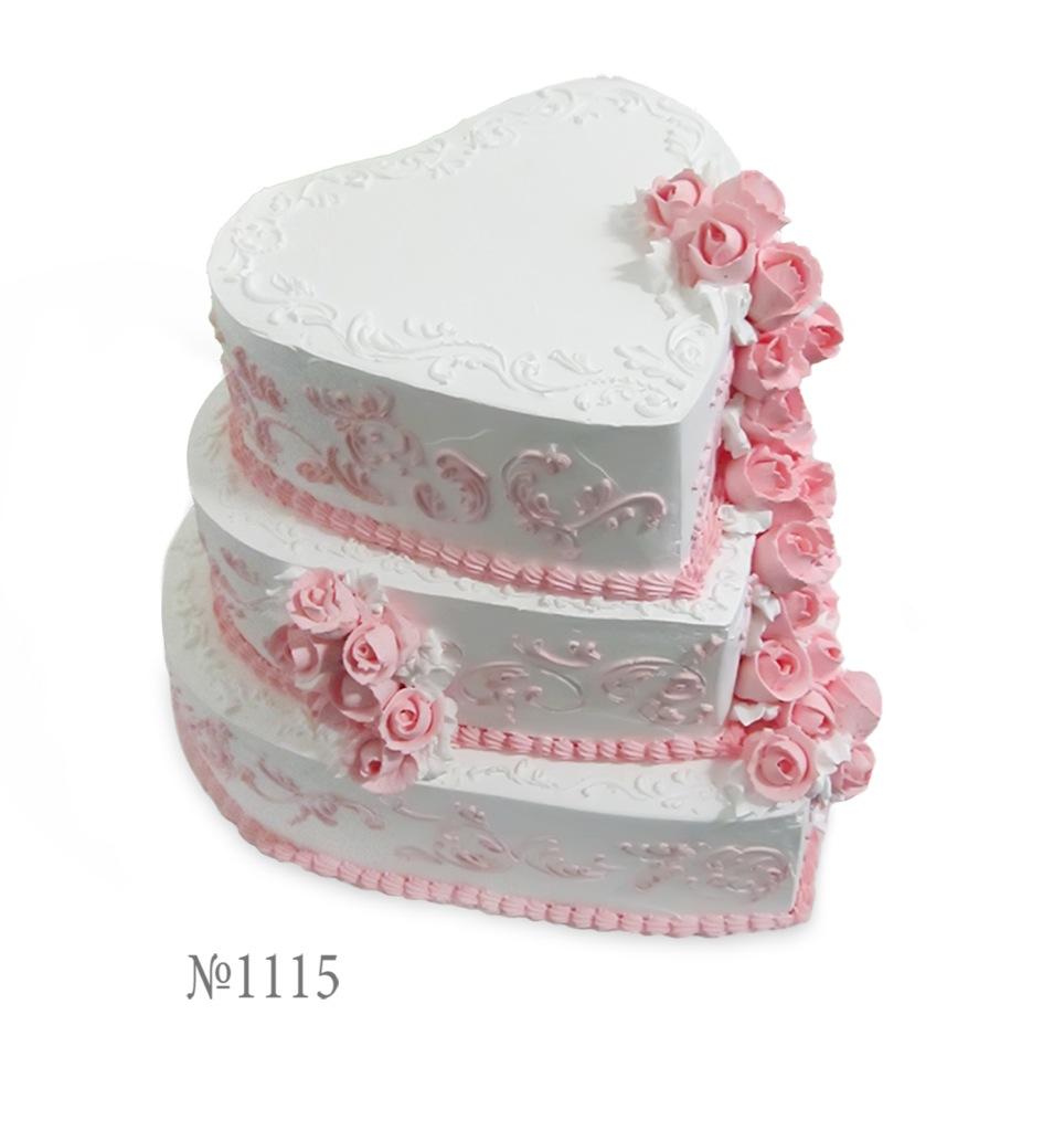 Торт из сливок на свадьбу